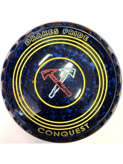 CONQUEST SIZE 0H GRIP BLUE SPECKLED P5 2213
