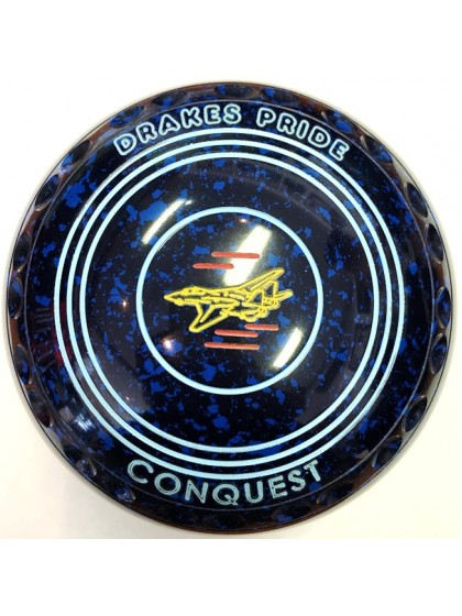 CONQUEST SIZE 00H GRIP BLUE SPECKLED P5 2212