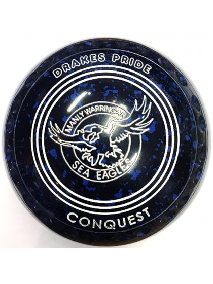 CONQUEST SIZE 3H GRIP BLUE SPECKLED N2 1776