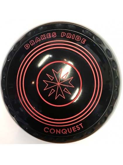 CONQUEST SIZE 4 EXTRA HEAVY GRIP BLACK N1 2058