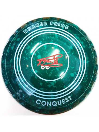 CONQUEST SIZE 5H GRIP GREEN SPECKLED N1 1334