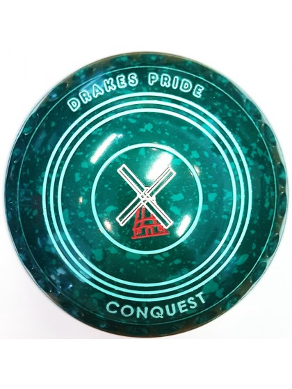 CONQUEST SIZE 5H GRIP GREEN SPECKLED N2 1334