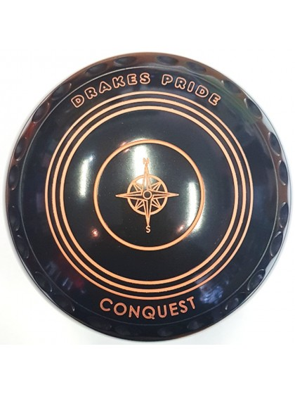 CONQUEST SIZE 4 EXTRA HEAVY GRIP BLACK N1 1797