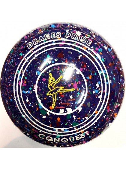 CONQUEST SIZE 1H GRIP PURPLE HARLEQUIN P1 4164