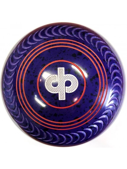 CONQUEST SIZE 3H CRESCENT GRIP PURPLE BLUE P4 4057