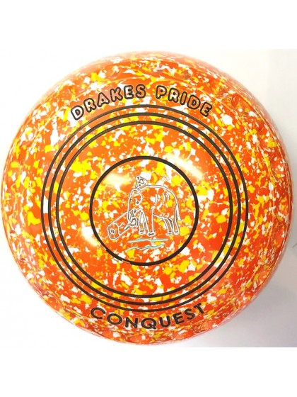 CONQUEST SIZE 3H GRIP ORANGE YELLOW WHITE P4 4487