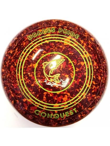 CONQUEST SIZE 4H GRIP MAROON RED ORANGE N7 1701