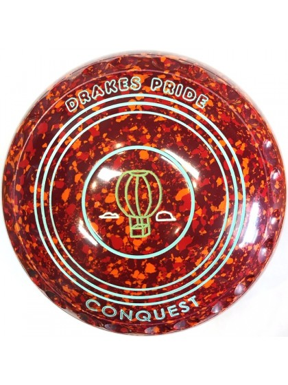 CONQUEST SIZE 1H GRIP MAROON RED ORANGE P4 4926