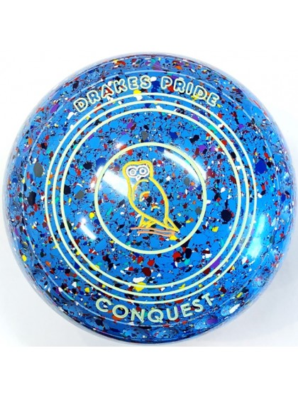 CONQUEST SIZE 0H GRIP SKY BLUE HARLEQUIN R1 8009