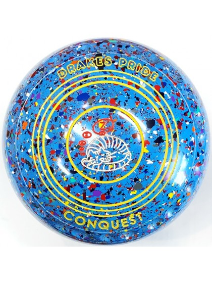 CONQUEST SIZE 1H GRIP SKY BLUE HARLEQUIN R1 8231
