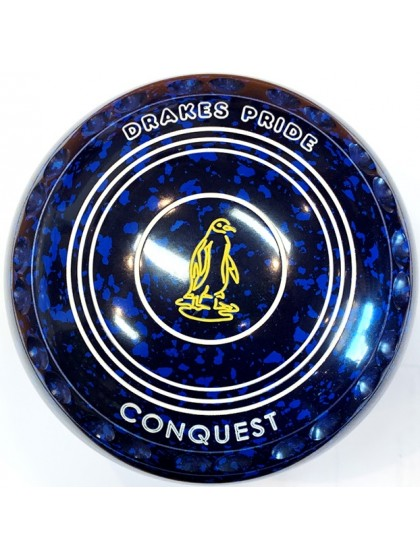 CONQUEST SIZE 4H GRIP BLUE SPECKLED R1 8412