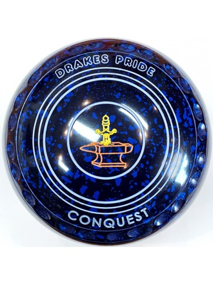 CONQUEST SIZE 1H GRIP BLUE SPECKLED R2 8231