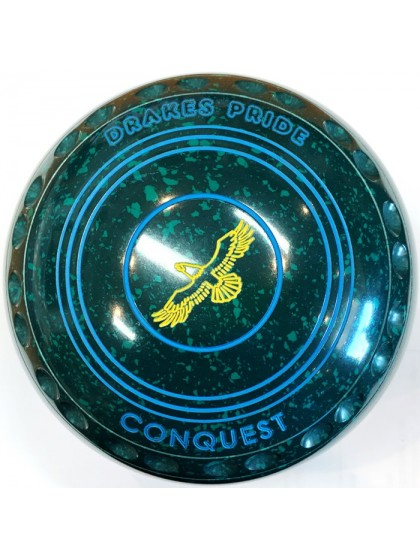 CONQUEST SIZE 2H GRIP GREEN SPECKLED R2 8410