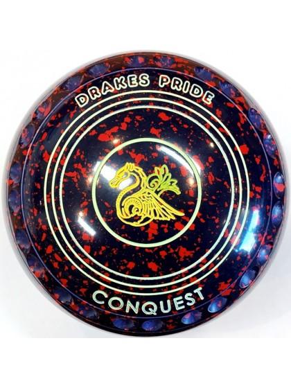 CONQUEST SIZE 1H GRIP DARK BLUE RED R3 8010