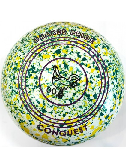 CONQUEST SIZE 3H PLAIN WHITE YELLOW GREEN R2 8235