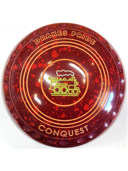 CONQUEST SIZE 2H GRIP MAROON RED R3 8410