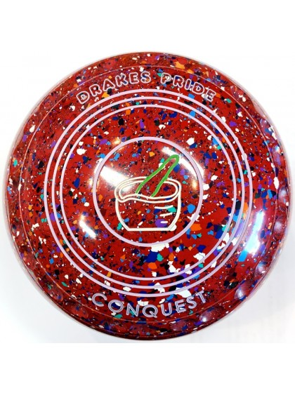 CONQUEST SIZE 4H GRIP RED HARLEQUIN R5 8412