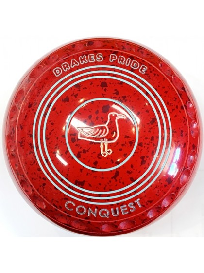CONQUEST SIZE 3H GRIP RED MAROON S1 9428