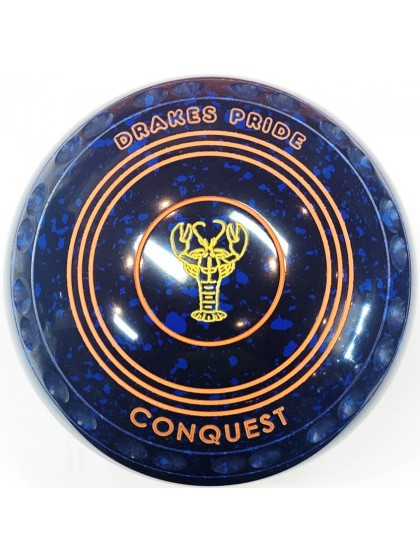 CONQUEST SIZE 4H GRIP BLUE SPECKLED S2 9429