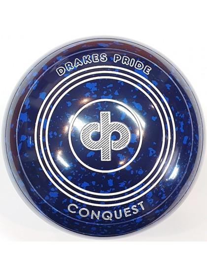 CONQUEST SIZE 4H PLAIN BLUE SPECKLED S2 9590