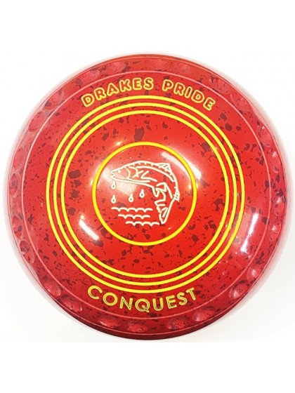 CONQUEST SIZE 4H GRIP RED MAROON S4 9429