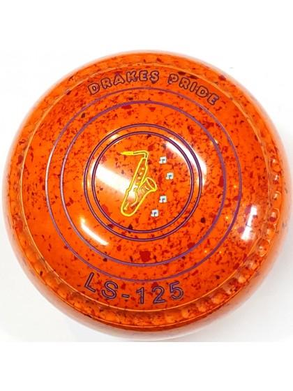 LS-125 SIZE 1H GRIP ORANGE RED S4 0632