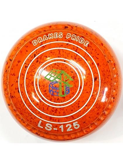 LS-125 SIZE 2H GRIP ORANGE RED S6 0632