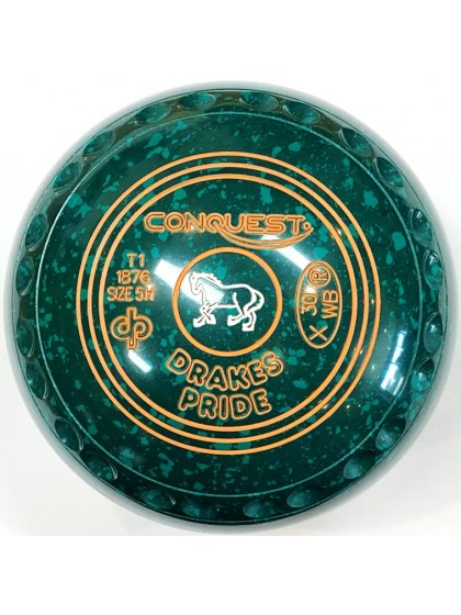 CONQUEST SIZE 5H GRIP GREEN SPECKLED T1 1876