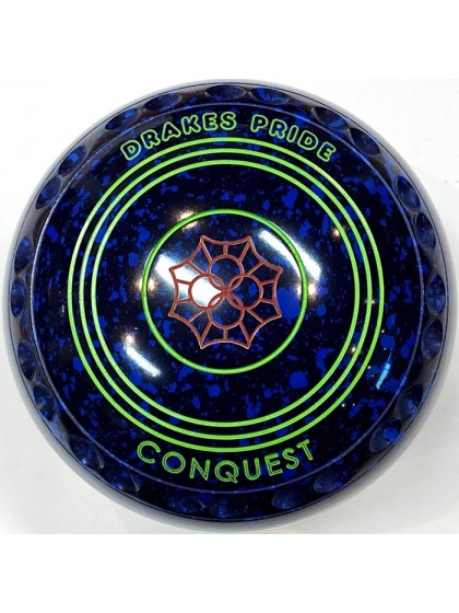CONQUEST SIZE 2H GRIP BLUE SPECKLED T1 2618