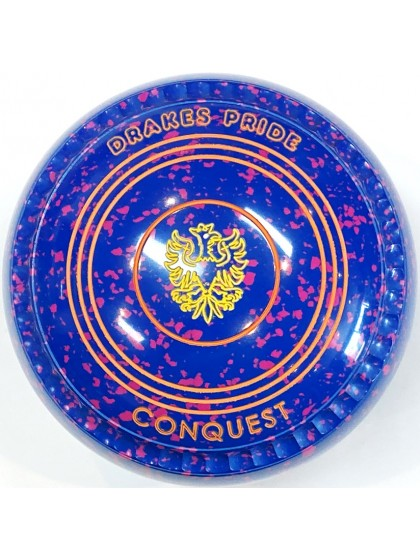 CONQUEST SIZE 2H GRIP BLUE PINK T2 1746 Featuring CHANNEL GRIP