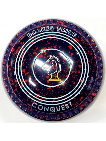CONQUEST SIZE 1H GRIP DARK BLUE RED T2 2383 Featuring CHANNEL GRIP