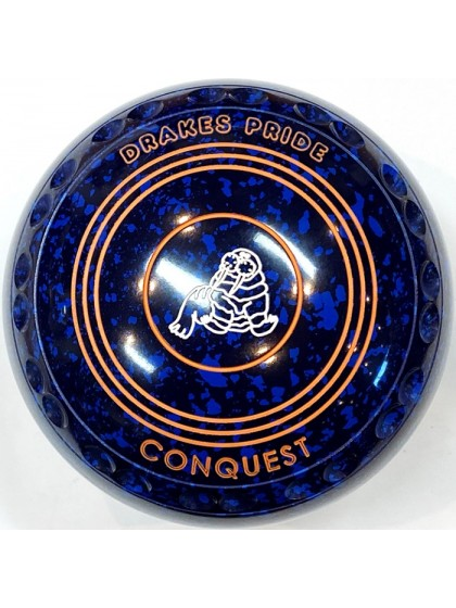 CONQUEST SIZE 3H GRIP BLUE SPECKLED T2 2620