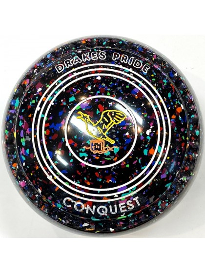 CONQUEST SIZE 3H GRIP BLACK HARLEQUIN T2 2698 Featuring CHANNEL GRIP