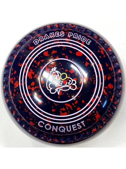 CONQUEST SIZE 3H GRIP DARK BLUE RED T3 2698 Featuring CHANNEL GRIP
