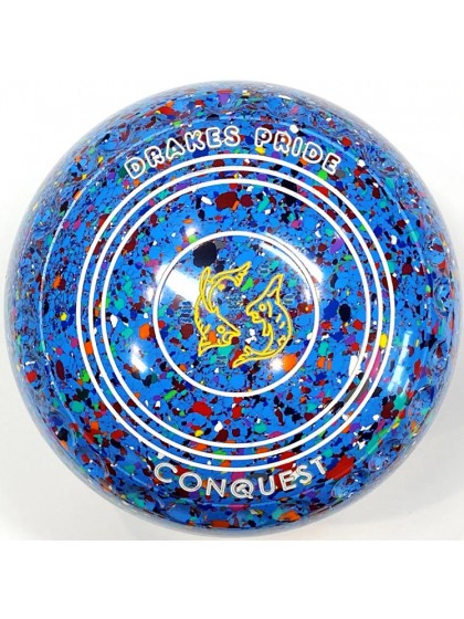 CONQUEST SIZE 1H GRIP SKY BLUE HARLEQUIN T4 1873