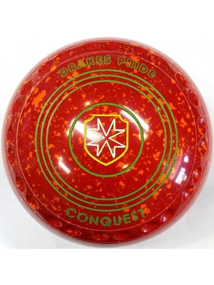 CONQUEST SIZE 4H GRIP RED ORANGE T4 2386