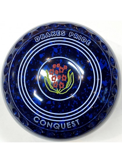 CONQUEST SIZE 1H GRIP BLUE SPECKLED T5 2383
