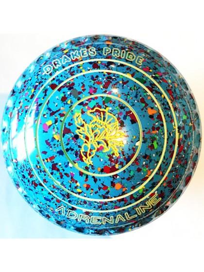 ADRENALINE SIZE 1H GRIP SKY BLUE HARLEQUIN M3 7774