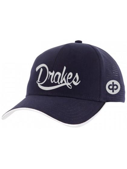 DRAKES PRIDE DRAKES LAZER NAVY LAWN BOWLS HAT