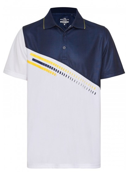 SPORTE LEISURE ZING MENS LAWN BOWLS POLO